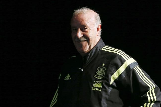 Главный тренер сборной Испании Висенте дель БОСКЕ Фото AFP