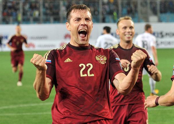 Нападающий сборной России Артем ДЗЮБА. Фото Алексей ИВАНОВ, «СЭ»