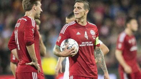 Аггер пропустит матч с Албанией