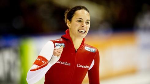 Ленстра выиграла 1500 м на этапе Кубка мира, Граф - третья