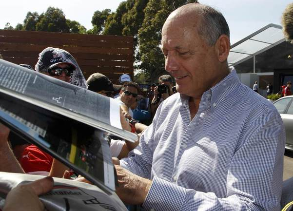 Руководитель McLaren Group Рон ДЕННИС Фото Reuters