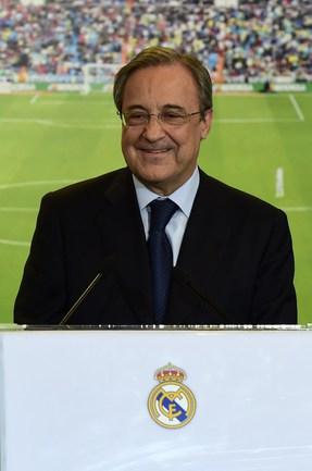 """Президент """"Реала"""" Флорентино ПЕРЕС Фото AFP"""