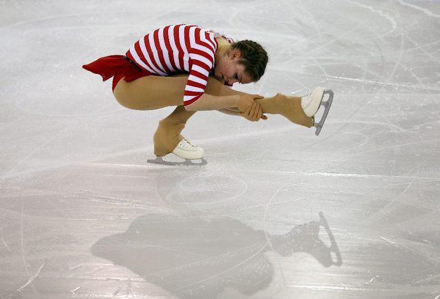 Российская фигуристка Юлия ЛИПНИЦКАЯ. Фото Reuters