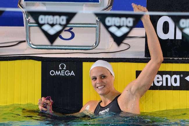 Олимпийская чемпионка Лор МАНОДУ Фото AFP