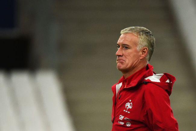 Главный тренер сборной Франции Дидье ДЕШАМ Фото AFP