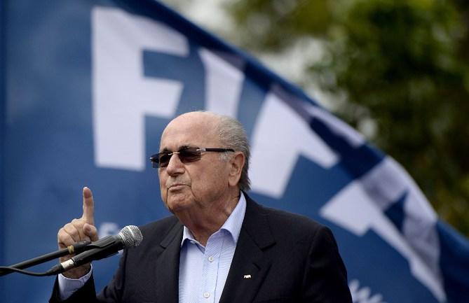 Президент ФИФА Йозеф БЛАТТЕР Фото AFP