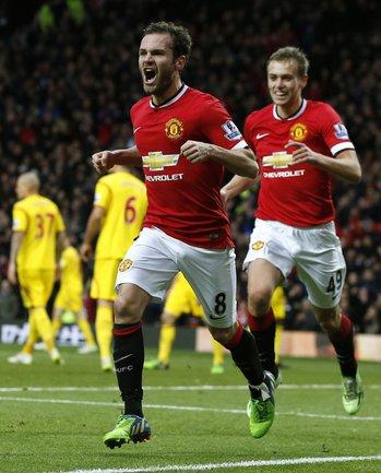 """Полузащитник """"Манчестер Юнайтед"""" Хуан МАТА. Фото Reuters"""
