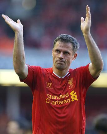 """Бывший капитан """"Ливерпуля"""" Джейми КАРРАГЕР Фото Reuters"""