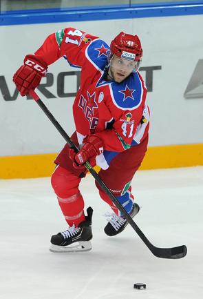 Хоккеист Чад БИЛЛИНС Фото Никита УСПЕНСКИЙ, «СЭ»