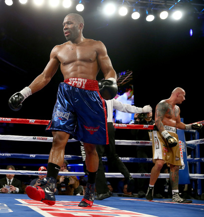 Американский боксер Брайант ДЖЕННИНГС Фото AFP