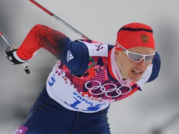 Лыжник, Олимпийский чемпион Никита КРЮКОВ. Фото Федор УСПЕНСКИЙ, «СЭ»