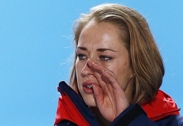 Британская скелетонистка Элизабет ЯРНОЛД. Фото AFP