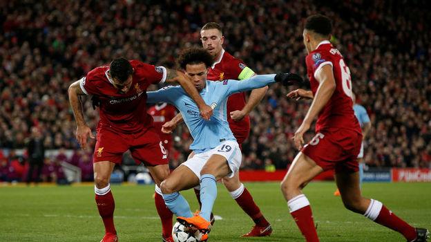 """Сможет ли """"Манчестер Сити"""" отыграть три гола у """"Ливерпуля""""? Фото Reuters"""