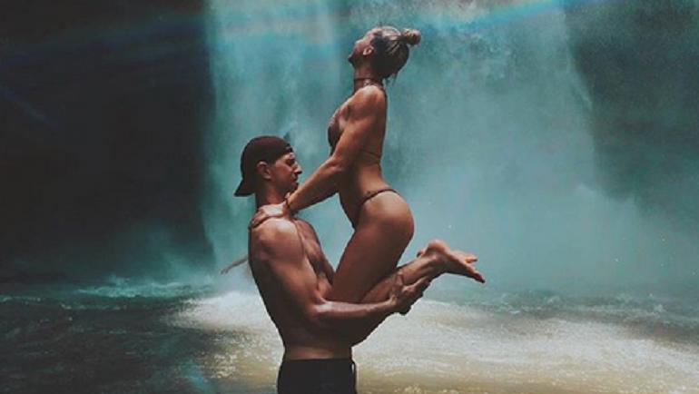Сергей ЧУДИНОВ и Елена НИКИТИНА на отдыхе. Фото instagram.com/