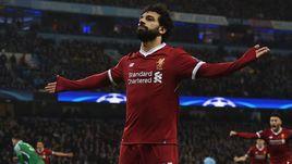 """Вторник. Манчестер. """"Манчестер Сити"""" – """"Ливерпуль"""" - 1:2. 56-я минута. Мохамед САЛАХ сравнял счет в матче."""