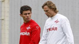 2010 год. АЛЕКС (слева) и Валерий КАРПИН.