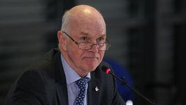 Президент Международного союза биатлонистов (IBU) Андерс БЕССЕБЕРГ.