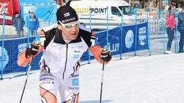 Пятница, 13-е. Финский лыжник проехал от Москвы до Тамбова