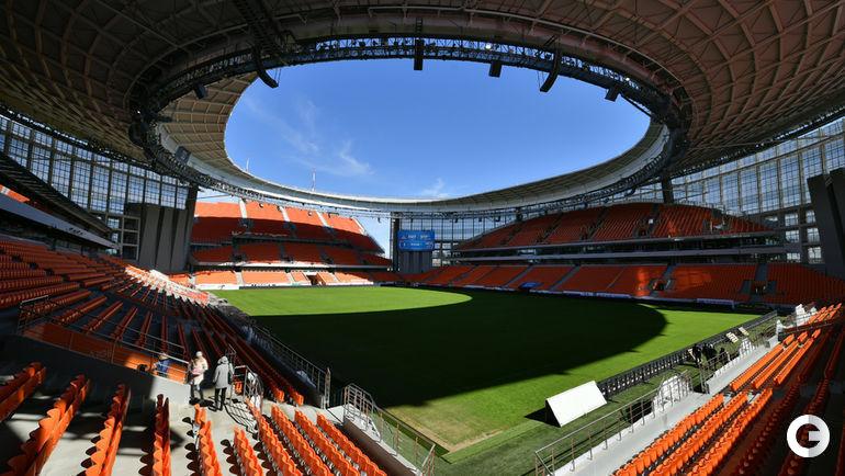 """Стадион """"Екатеринбург Арена""""."""
