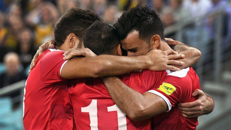 Футбольная сборная Сирии была близка к тому, чтобы добыть путевку на чемпионат мира-2018, но в итоге не прошла отбор. Фото REUTERS