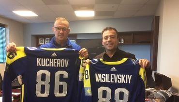 Стив АЙЗЕРМАН (слева) и Игорь РАБИНЕР. Фото «СЭ»