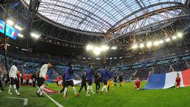 27 марта. Санкт-Петербург. Россия - Франция - 1:3. Перед матчем.