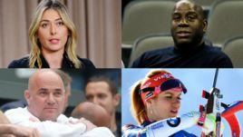 Кто из звезд спорта делал не менее громкие признания, чем биатлонистка Габриэла КОУКАЛОВА?