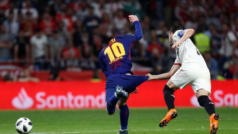 Футбол испания севилья барселона