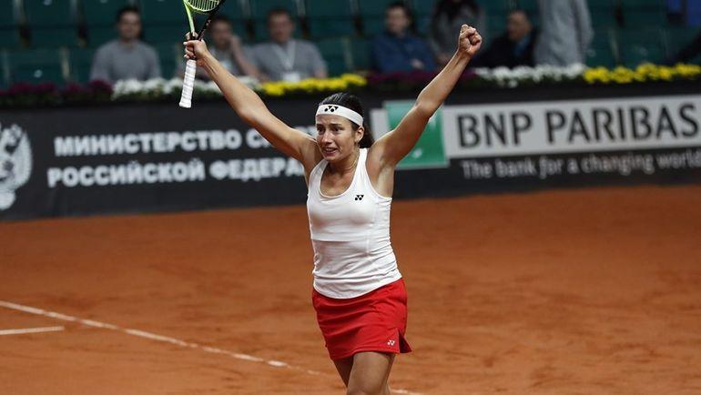 Анастасия СЕВАСТОВА: Латвия победила Россию. Фото fedcup.com