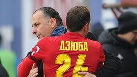 Дзюба, Бериша и Кузяев – в символической сборной тура