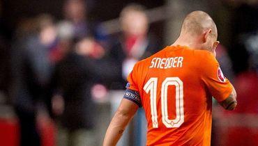 Снайдер проведет последний матч за сборную Голландии 6 сентября