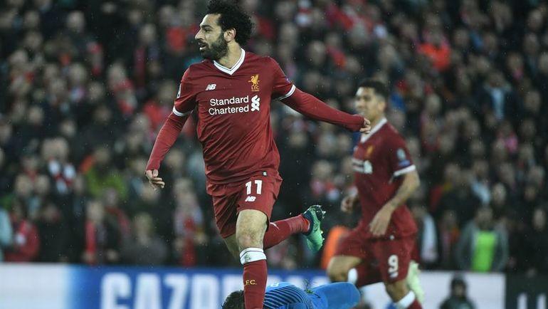 """Вторник. Ливерпуль. """"Ливерпуль"""" - """"Рома"""" - 5:2. Мохамед САЛАХ. Фото AFP"""