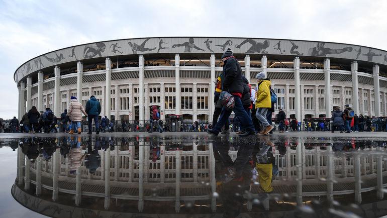 """Стадион """"Лужники"""". Фото Дарья ИСАЕВА, """"СЭ"""""""