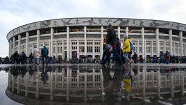 """Стадион """"Лужники""""."""