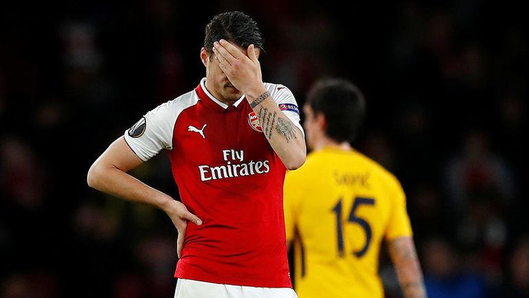 "Четверг. Лондон. ""Арсенал"" - ""Атлетико"" - 1:1. Фото REUTERS"