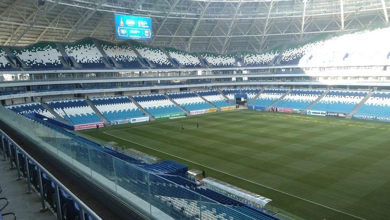 Сегодня. Самара. Стадион ЧМ-2018 получил разрешение на ввод в эксплуатацию. Фото twitter.com/Const_Analytics