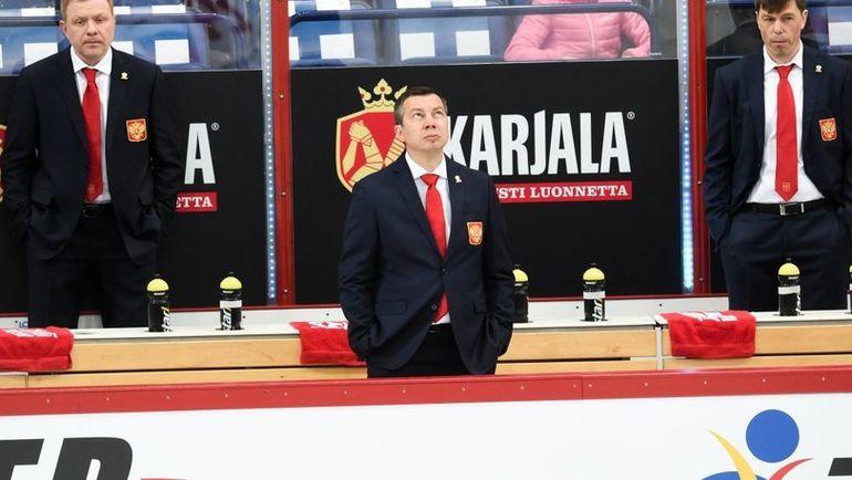 Илья ВОРОБЬЕВ (в центре). Фото ФХР, fhr.ru