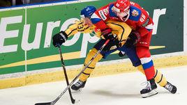 Суббота. Стокгольм. Швеция - Россия - 3:1. Пятое подряд поражение команды Ильи Воробьева.