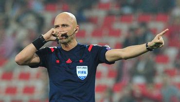 Бригада Карасева назначена на полуфинальный матч Лиги Европы