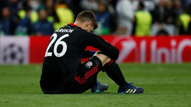 "Вторник. Мадрид. ""Реал"" - ""Бавария"" - 2:2. Cвен УЛЬРАЙХ: после ошибки. Фото Reuters"