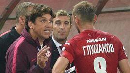 Роман ПИЛИПЧУК, Массимо КАРРЕРА и Денис ГЛУШАКОВ: ассистент тренера уже покинул штаб итальянца.