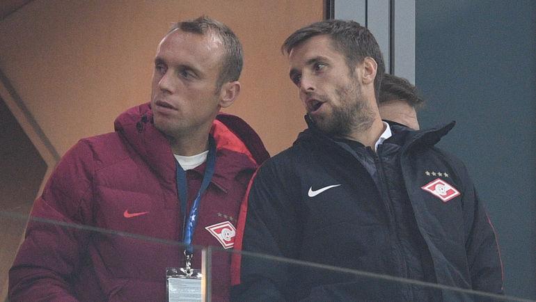 """Денис ГЛУШАКОВ (слева) и Дмитрий КОМБАРОВ. Фото Дарья ИСАЕВА, """"СЭ"""""""
