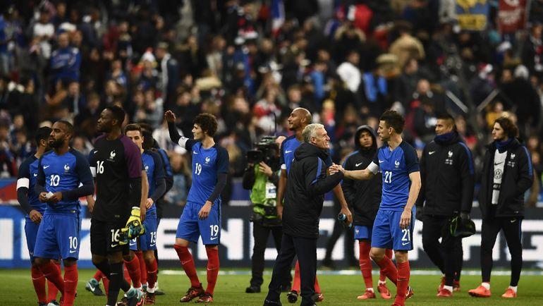 Сборная Франции Дидье ДЕШАМА. Фото REUTERS
