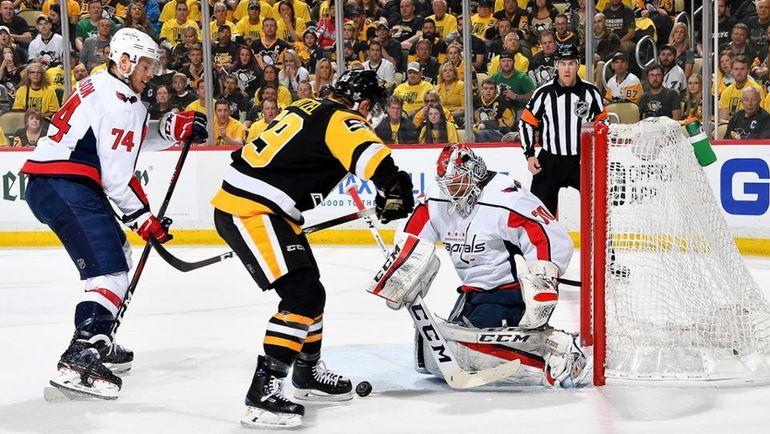 "Четверг. Питтсбург. ""Питтсбург"" - ""Вашингтон"" - 3:1. ""Пингвины"" сравняли счет в серии. Фото Пресс-служба НХЛ"