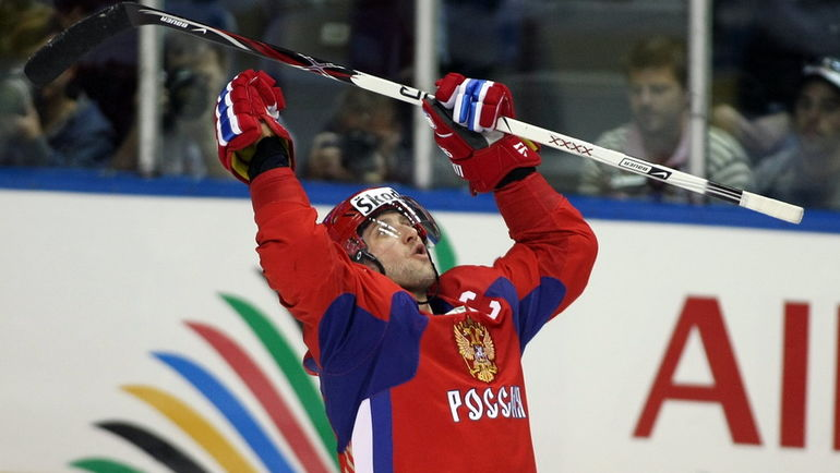 2008 год. Алексей МОРОЗОВ. Фото AFP