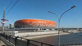 Стадион в Саранске.