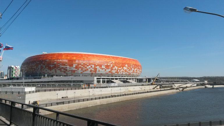 """Стадион в Саранске. Фото Александр КРУЖКОВ, """"СЭ"""""""