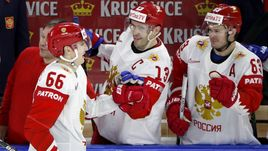 Сегодня. Копенгаген. Австрия - Россия - 0:7. Команда Ильи Воробьева вновь уверенно победила своего соперника.