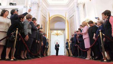 Спортсмены на инаугурации Владимира Путина. Как это было