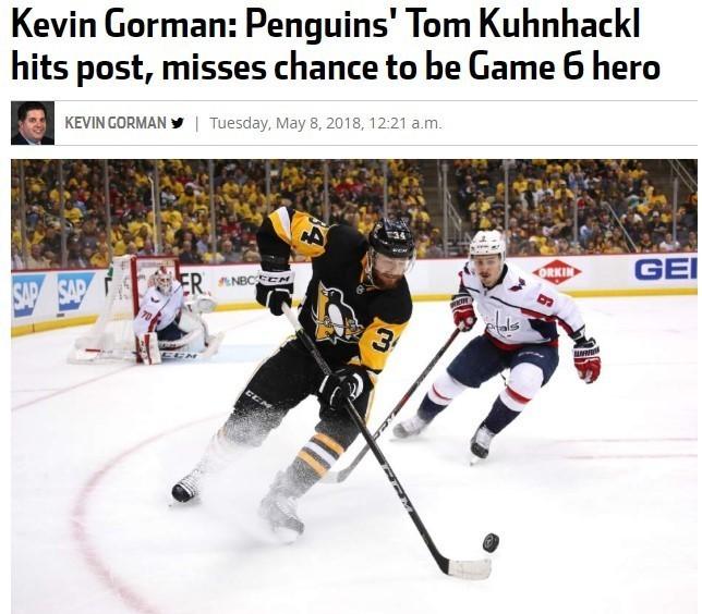 """Кевин Горман - о невезении """"Питтсбурга"""". Фото triblive.com"""
